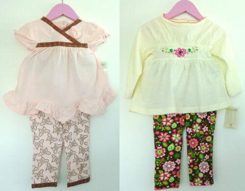 2 tlg Baby set LA Shirt mit Leggings Hose,Tunika,Top,Langarmshirt,74 80 86 98