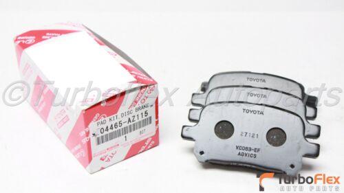 Toyota Avalon 98-04 Camry V6 97-01 Solara 99-02 Front Brake Pads 04465-AZ115