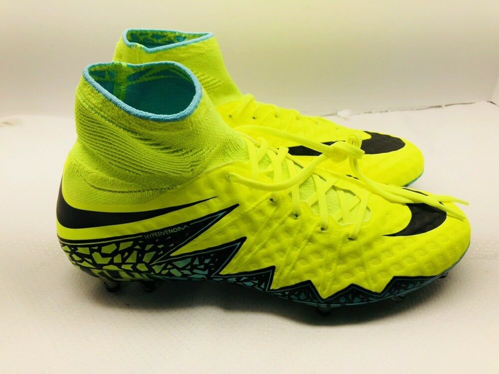 Nike hypervenom phantom ii fg scarpini da calcio da nero 747213-703 uomini dimensioni