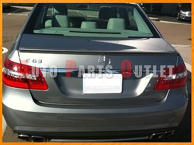 #755 Steel Gray 10-16 M-Benz W212 AMG Type E250 E400 E550 Wing Trunk Spoiler Lip