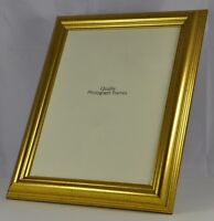 Antique Gold Pinstripe Photo/Picture Frame 30mm wide - Various Sizes available