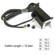 Nema23 570ozin 5a 14 Dual Shaft Stepper Motor Kl23h2100 50 4bmc With Cable