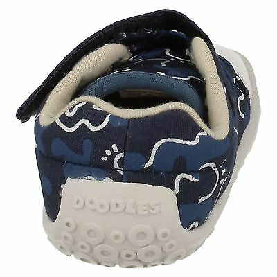 Clarks Jungen little Chap  marineblau oder Marinebalu Kombi Leinen Cruisers