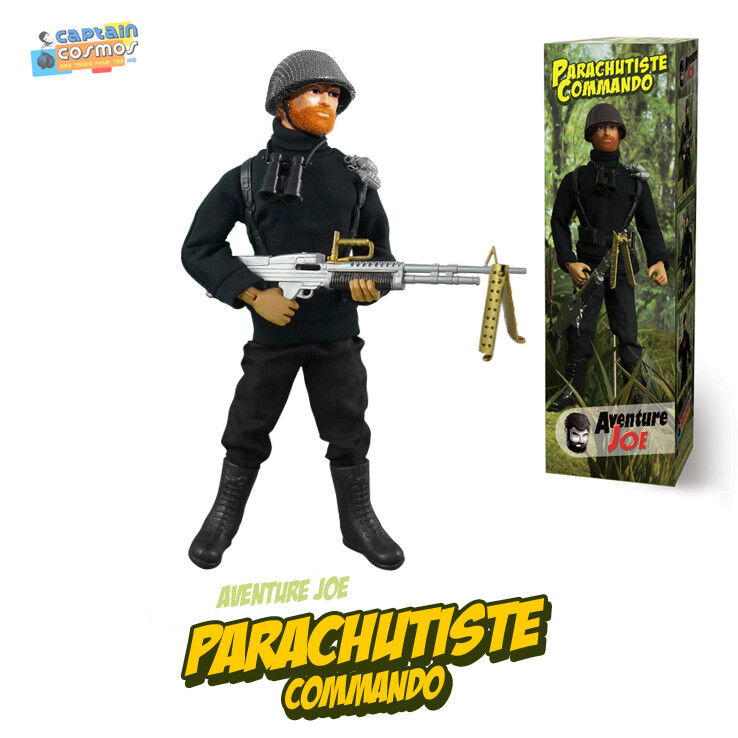 Aventure Joe Tenue de Parachutiste Commando repro neuve Action Man outfit only