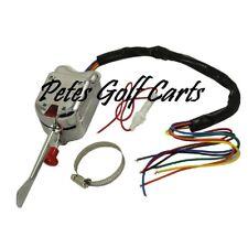 Golf Cart Turn Signal Switch Chrome Universal Club Car Ezgo Yamaha 7 Wire