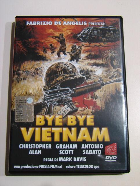 DVD - Bye Bye Vietnam (1988) PERFETTO! RARISSIMO!!! Antonio Sabato, Camillo Teti