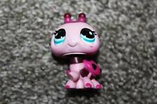 Cute Pink Ladybug #1423 Blue Eyes LPS Toy Bug RARE VHTF Hasbro Littlest Pet Shop