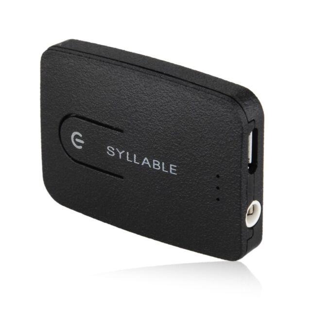 Syllable E3 multi-funktionale Bluetooth Box Transmitter  Bluetooth4.0 Schwarz ET