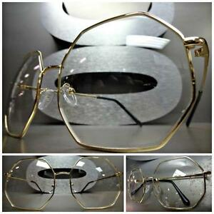 a555ce4a6e52 Image is loading CLASSIC-VINTAGE-RETRO-Style-Clear-Lens-EYE-GLASSES-