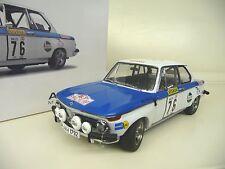1:18 Autoart BMW 2002 Tap Rally 1972 Warmbold/Davenport #76 NEU NEW