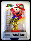 Amiibo Mario Gold Edition First Run US Print 025S1 ERROR DEFECT PACKAGE NINTENDO