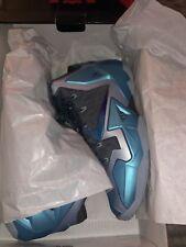 the latest e0402 41a57 item 4 Nike LEBRON 11 XI Armory Slate Gamma Blue 2013 Men s Used 12 616175- 401 -Nike LEBRON 11 XI Armory Slate Gamma Blue 2013 Men s Used 12 616175-401