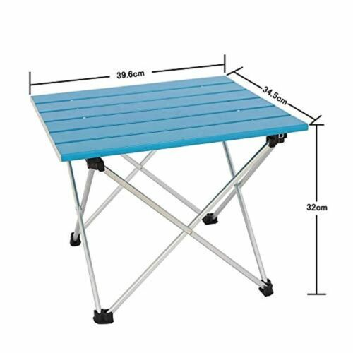Details about  /Folding Outdoor Portable Aluminum Table Lightweight Camping Picnic Fishing /& Bag