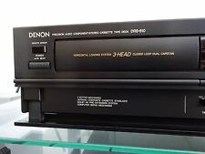 DENON DRS-810 Stereo Cassette Tape Deck - Audiophile Grade - 3 Head - Japan!