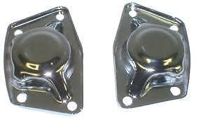 Details about VW spring plate caps, VW torsion bar chrome VW torsion cover  plates dune buggy