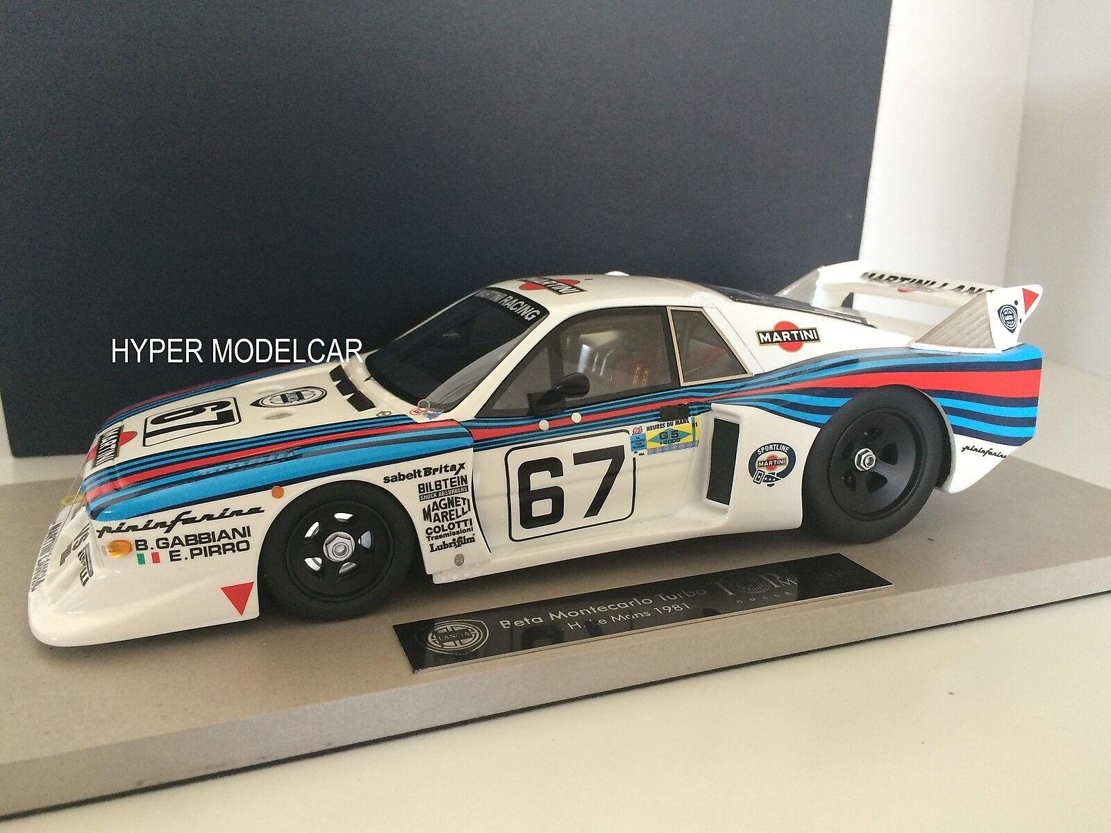 TOPMARQUES 1 18 Lancia Beta Montecarlo H Le Mans 1981 Art. TOP021C
