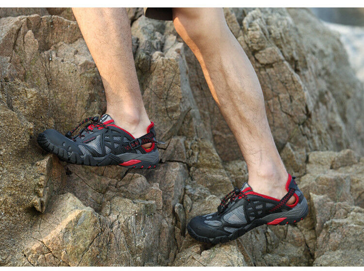 Outdoor Sneakers Breathable Hiking shoes Sandals Trail Aqua Water Lightweight