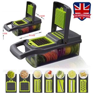 7In1 Food Vegetable Salad Fruit Cutter Peeler Slicer Dicer Chopper Kitchen Tools