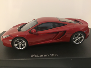 Autoart 56008 McLaren 12c Red Metallic 2011 1 43 Scale New