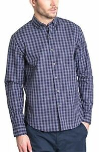 BC-Clothing-Expedition-Men-039-s-Long-Sleeve-Button-Front-Plaid-Stretch-Shirt-XXL