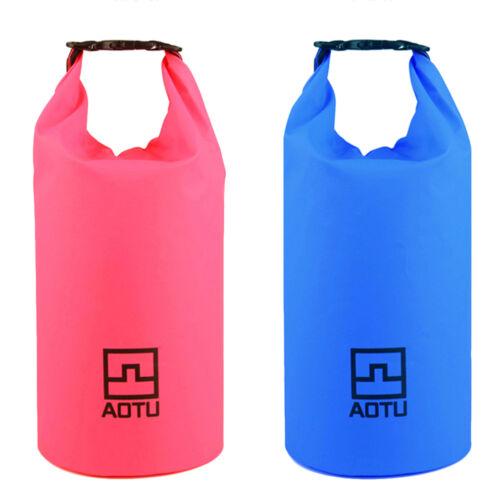 Waterproof Dry Bag 20L 10L Storage Pack Winter Outdoor Sport Camping Beach UT