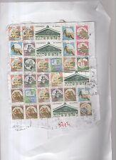francobolli repubblica usati stock di 32 valori - C