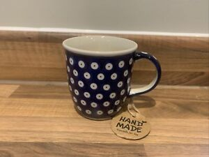 Mug 0.35L Handmade Polish pottery Boleslawiec