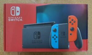 Nintendo Switch 32GB Console w/ Neon Blue & Neon Red Joy-Con