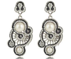 1-pair-Fashion-White-Crystal-Rhinestone-Ear-Drop-Dangle-Stud-long-Earrings-53