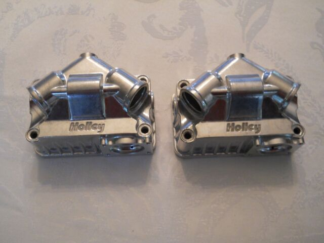 Holley Model 4150//4160 Double Pumper Primary /& Secondary Aluminum Fuel Bowls