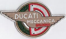 Ducati Mechanica Bologna embroidered patch.  B030301