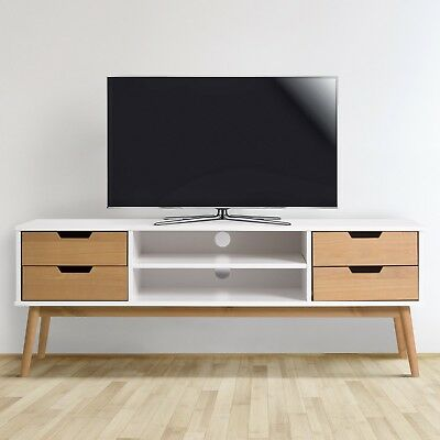 MUEBLE TV JAVA 1P2C BLANCO/CERA