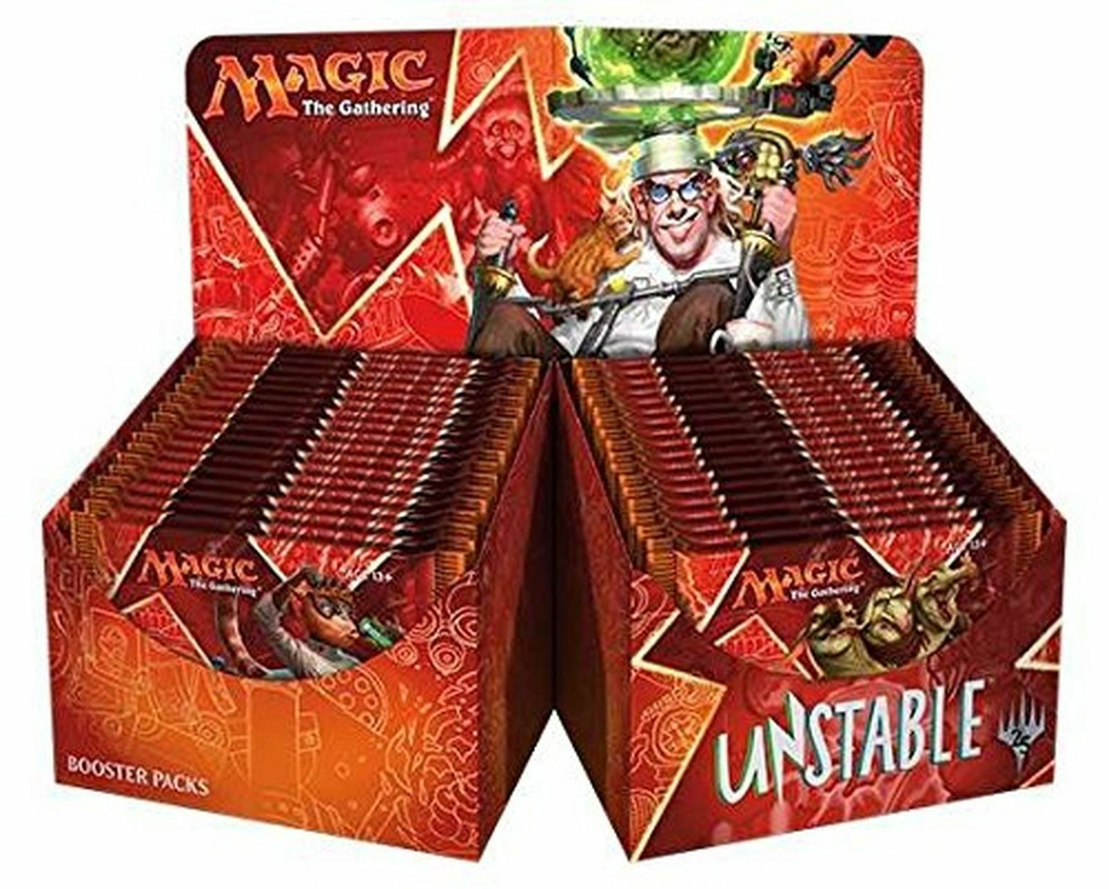 Magic-Magic the Gathering  instable Booster Box (Anglais, factory sealed) NEUF