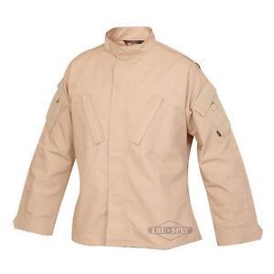 Shirt-Tru-Spec-Tactical-Response-Uniform-Khaki-65-Polyester-35-Cotton-New