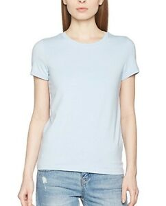 Solo-WOMEN-039-S-onllive-LOVE-trendy-SS-O-Neck-Top-Noos-T-shirt-taglia-M-00273