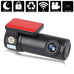 170 mini voiture de cam ra wifi 720p dvr dash cam full hd vision nuit g sensor ebay. Black Bedroom Furniture Sets. Home Design Ideas