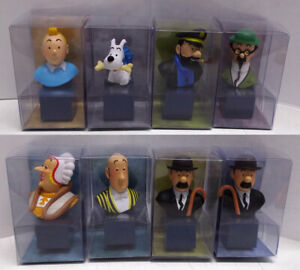 MOULINSART-Tintin-Herge-Serie-de-8-bustes-PVC-2017