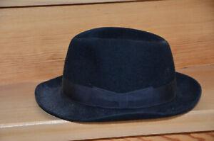 Intelligent Hut, Herren, Schwarz, Marke Rockel, Hochwertig, Gebraucht, Aber Sehr Gut, 70er!