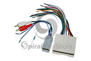 s l300 radio stereo wiring harness factory subwoofer integration 2004 Ford Explorer Stereo Wire Harness at readyjetset.co