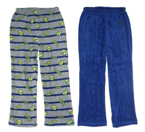 DKNY Big Boys Grey /& Navy 2pc Pajama Pants Size 8 10//12 14//16