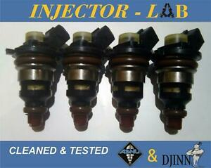 Ford Mondeo 1,8 2,0 FUEL INJECTORS 948F-B2B set of 4 CLEANED/&TESTED