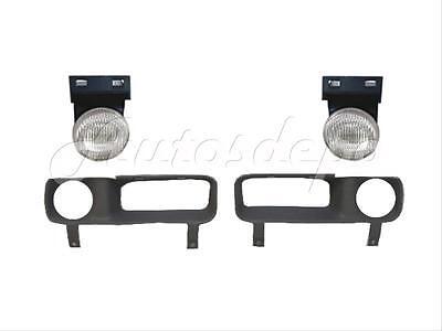 94-02 Ram1500 2500 3500 NEW Front RH Passenger Fog Light Cover Shield CH1039107