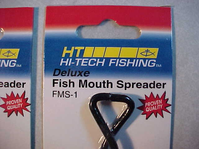 """2 NEW 9 /"""" FISH mouth jaw  HT DELUXE STEEL SPREADERS NORTHERN MUSKIE"""
