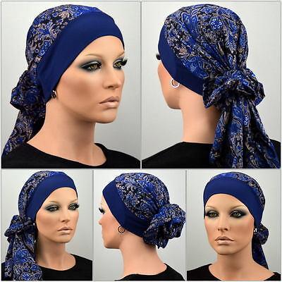 Damen Kopftuch Mütze Chemo Tuch Damenmütze Bandana Turban Chemomütze Laura NEU