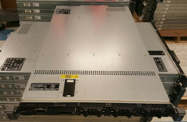 Dell PowerEdge R610 Server 2 x 2.4GHz Quad Core iDRAC 8GB RAM 2 x PSU