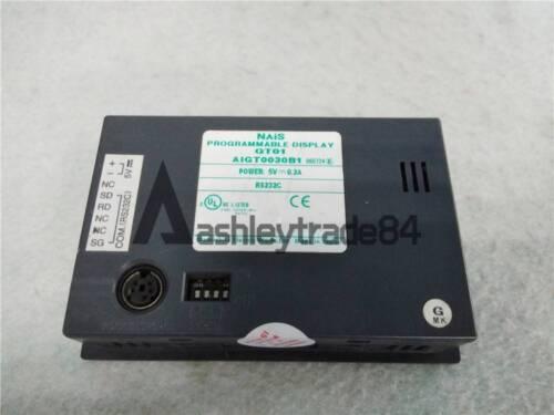 1PCS Used Panasonic Programmable Display GT01 AIGT0030B1