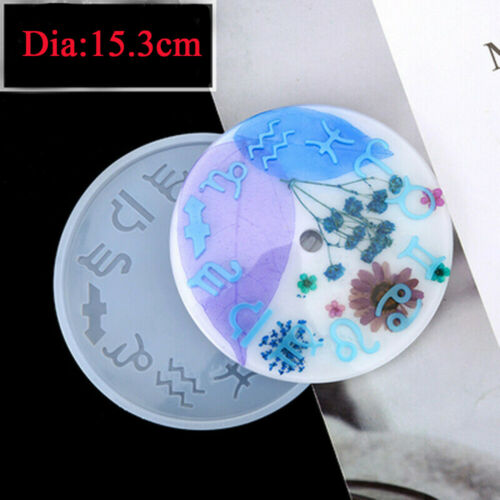 Silicone Mold Jewelry Clock Resin Mould Handmade Tool DIY Epoxy Molds Craft