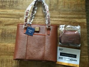 Dooney-and-Bourke-handbag-NWT-Purse-Designer-bag-Sm-Lexington-amp-coin-purse