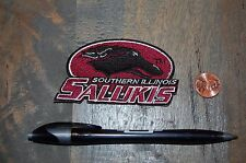 """Southern Illinois Salukis 3 1/4"""" Primary Logo Patch College"""