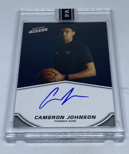 CAMERON JOHNSON 2019-20 Panini Instant Blue Ink On Card Auto Autograph #5/25 RC